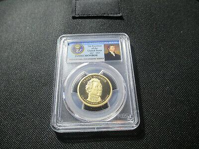 2008-S James Monroe 5th President  Presidential Dollar PCGS PR69DCAM