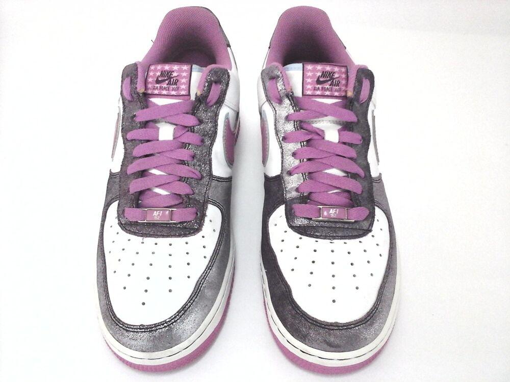 Nike Air Force Femmes Rose Chaussures de Baskets Limited Edition 11  Chaussures de Chaussures sport pour hommes et femmes c37adb