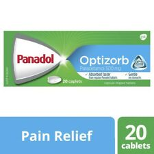 Panadol Optizorb Paracetamol Caplets 20 pack