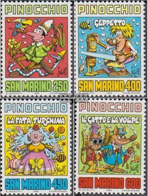 Postfrisch 1990 Collodi kompl.ausg. VertrauenswüRdig San Marino 1452-1455