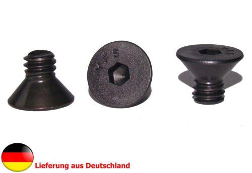 """//trípode tornillo longitud 9,5mm cámara 12 unidades de 1//4/"""" pulgadas senkkopfschraube"""