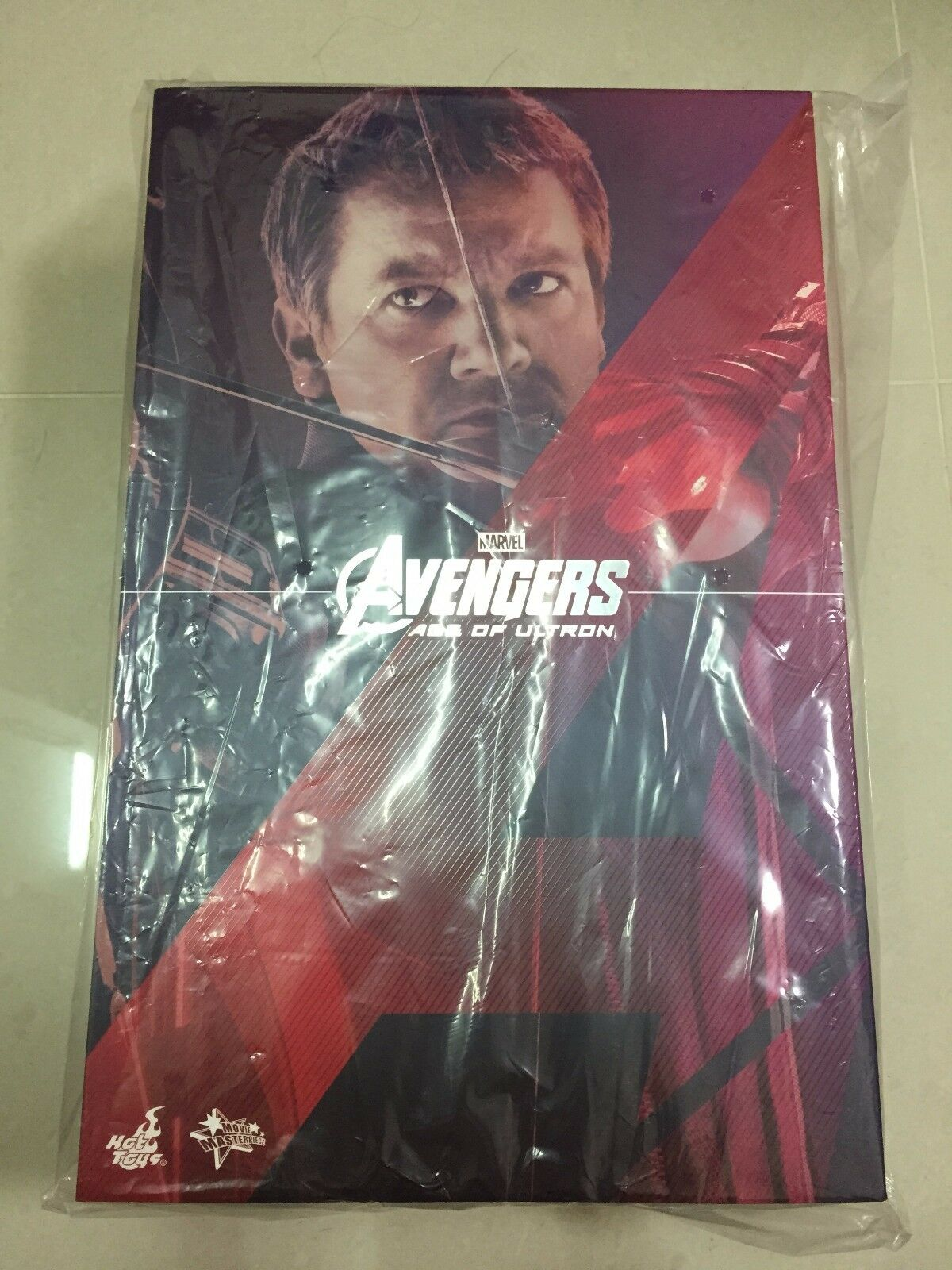 Hot Toys MMS 289 Avengers Age of Ultron AOU Hawkeye Jeremy Renner Figure Nuovo