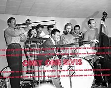 """1946 Photo IT'S THAT DRUMMER MAN, GENE KRUPA! """"Drum Boogie"""" in the Panther Room"""