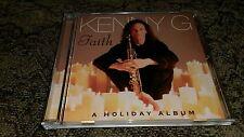 Faith: A Holiday Album by Kenny G CD Christmas Chanukah Song Santa Claus X-Mas