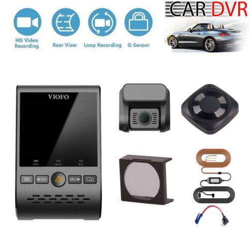 CPL Viofo A129 Duo Wifi GPS HD Car Dash Cam Hardwire+Fuse Kit Remote Control