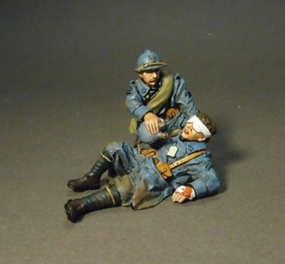 JOHN JENKINS DESIGNS WW1 THE GREAT WAR GWF-29 FRENCH WOUNDED SET MIB