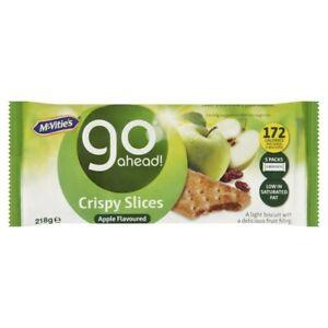 Go Ahead Sultana & Apple Crispy Slice 218g