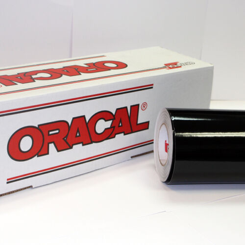 "Black Oracal 651 Roll 24/"" X 50/' Sign Cutting Vinyl 1"