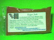 Rogan Josh Mild Curry Spice Blend Kashmiri Anti Inflammatory 2 oz bag $2.95