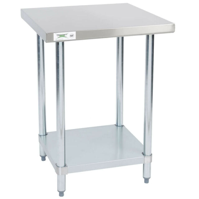 Regency X Stainless Steel Commercial Work Prep CHOP - Stainless steel table 18 x 24