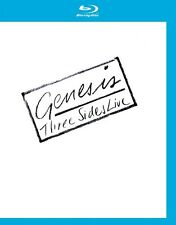 GENESIS - THREE SIDES LIVE  BLU-RAY NEU