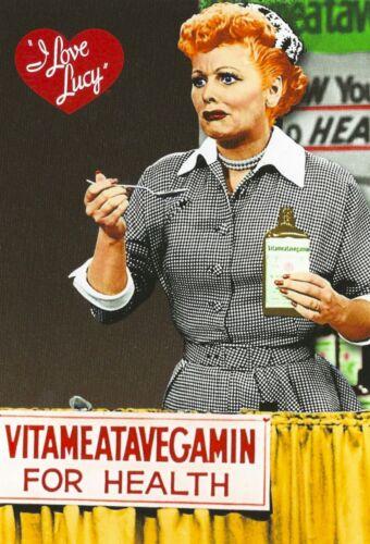 40 MIL Refrigerator Magnet I love Lucy VITAMEATAVEGAMIN Scene