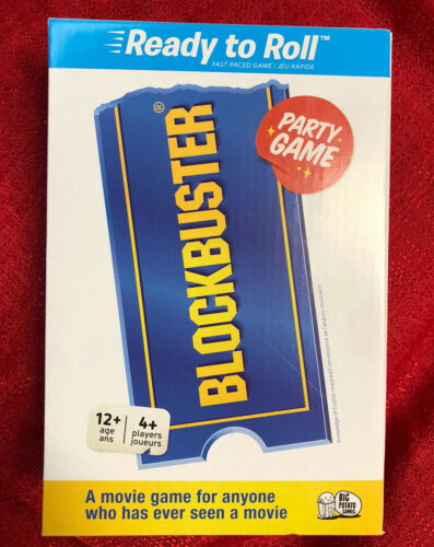 Ready To Roll Big Potato Games NEW Movie Trivia Blockbuster Party Game