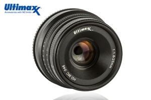 ULTIMAXX-25mm-f1-8-Manual-Lens-for-Fuji-X-A1-X-A10-X-A2-X-A3-X-at-X-M1-XM2-X-T1