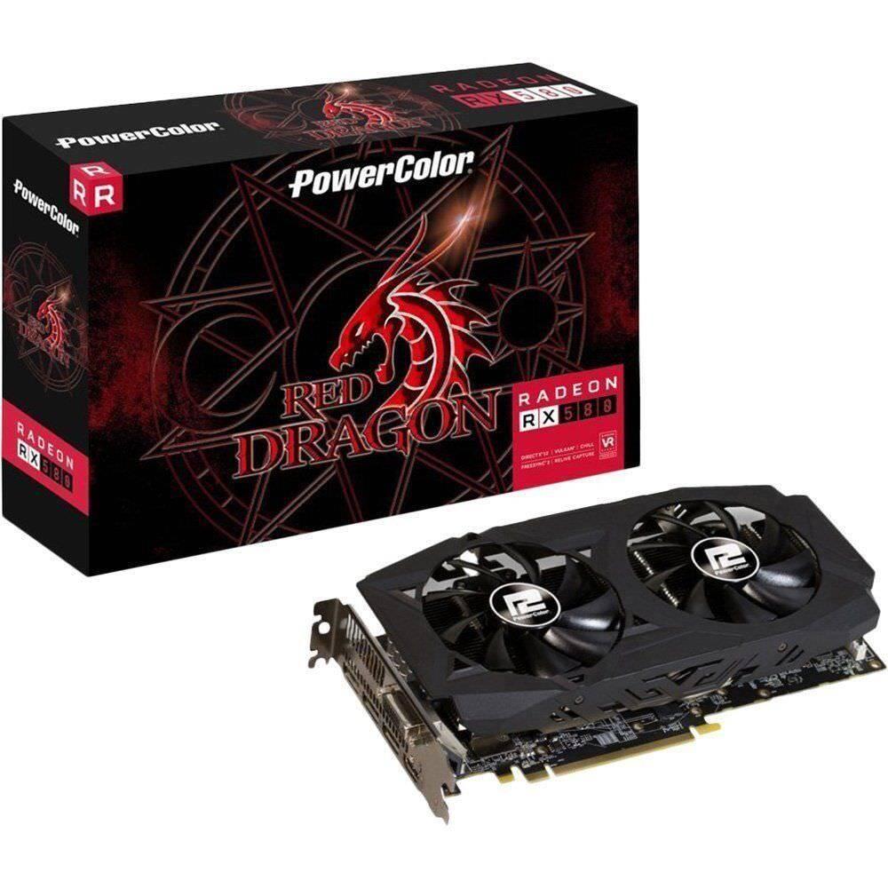 PowerColor Red Dragon Radeon RX 580 8GB Graphics Card 2