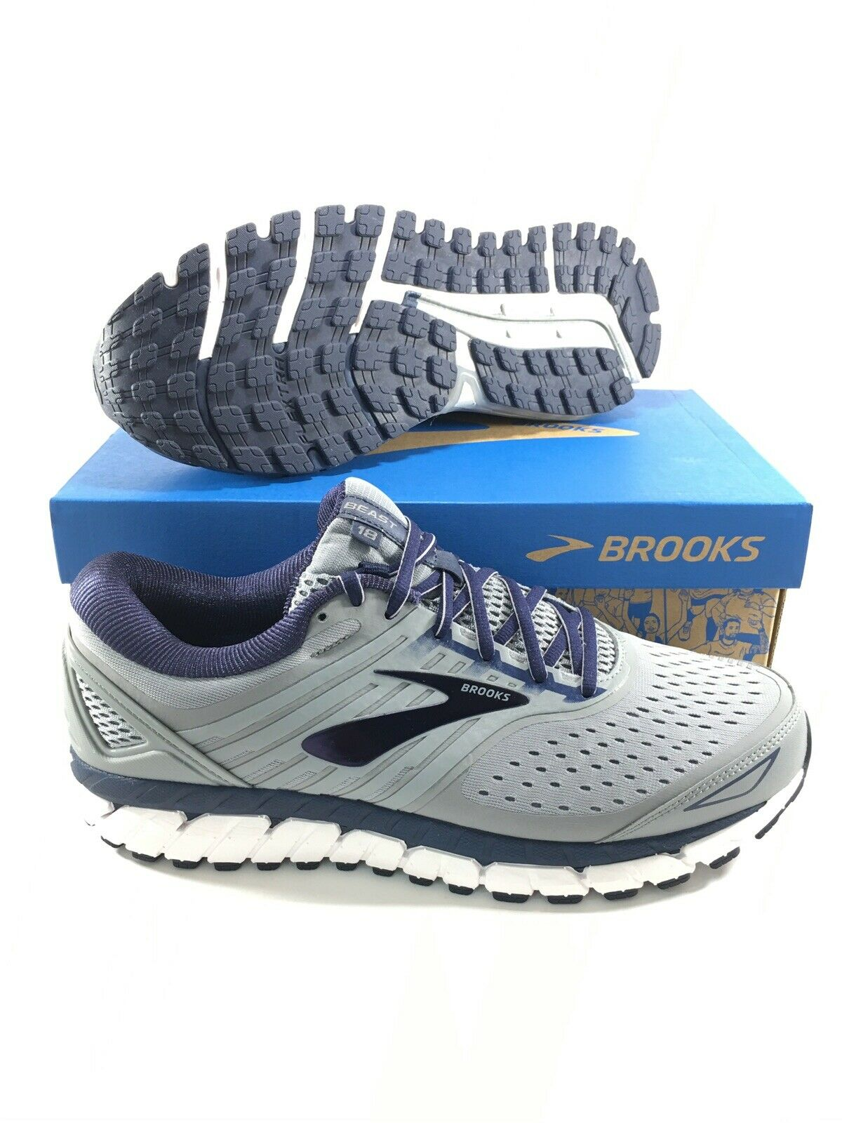 Brooks Mens Size 10 4e Extra Wide EEEE