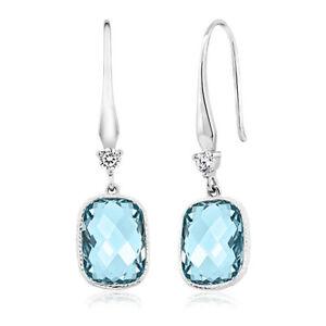 AVENTURA-Silver-Blue-Aquamarine-Drop-Dangle-Earrings