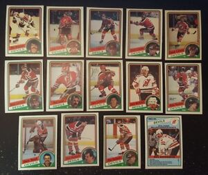 1984-85-OPC-NEW-JERSEY-DEVILS-Select-from-LIST-NHL-HOCKEY-CARDS-O-PEE-CHEE