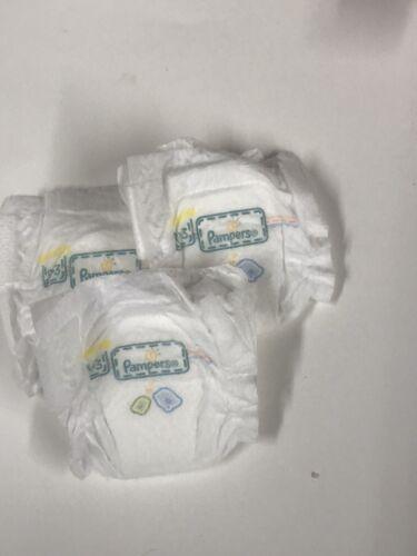 3 Miniature silicone  Doll reborn micro preemie Diapers