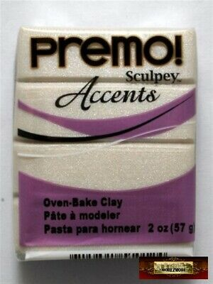 Purple Pearl Sculpey Premo Accents Craft Maker
