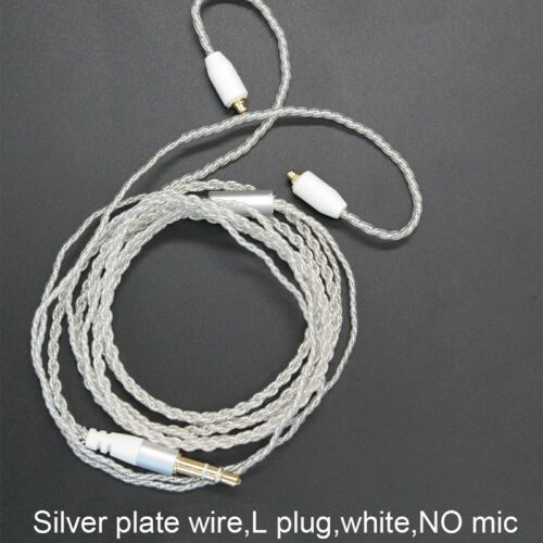 3.5mm Headphone Earphone DIY Braided Cable MMCX Plug Updated Replacement Wire GX