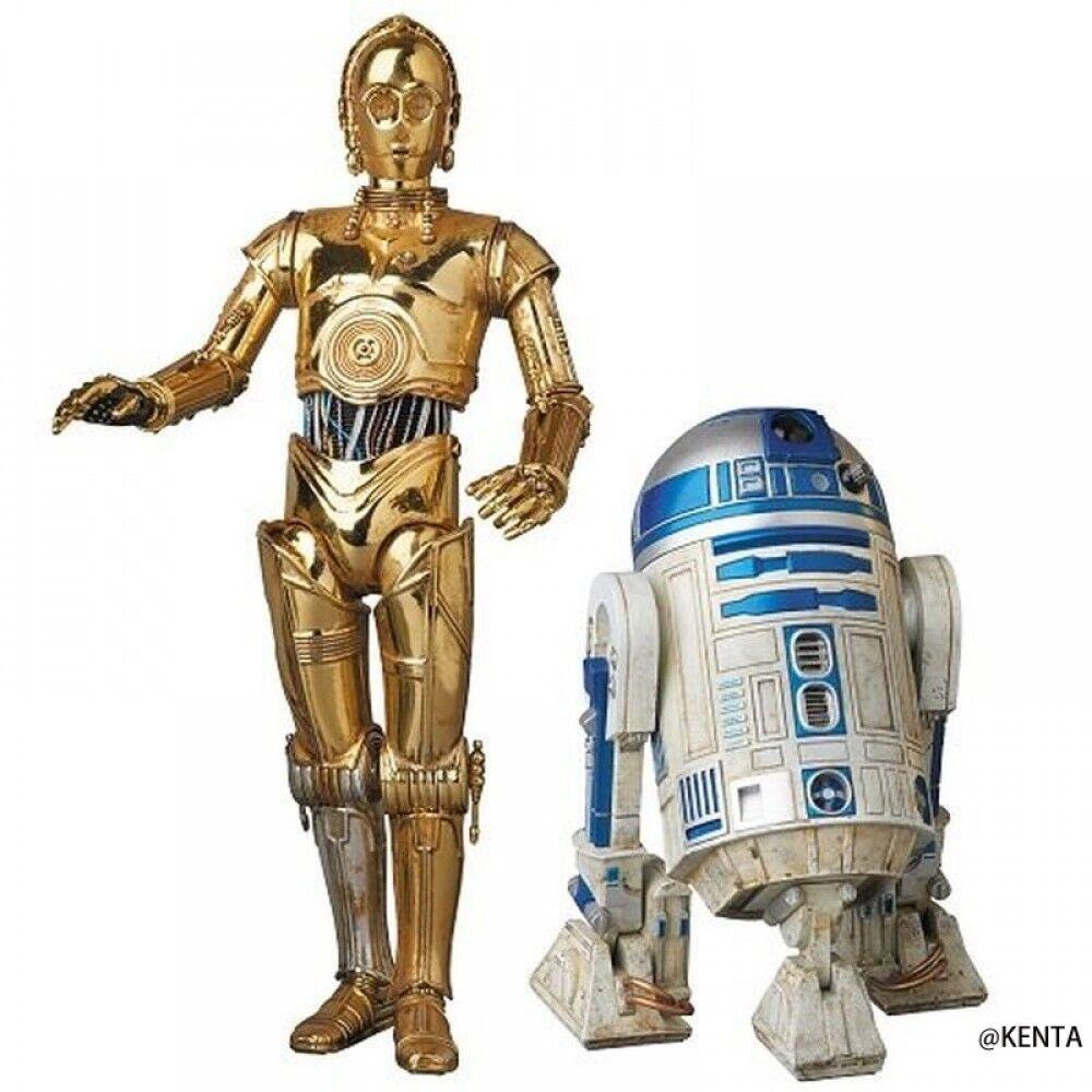 Figura Estrella Wars C-3PO & R2-D2 Medicom Juguete