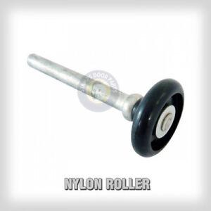 Garage Door Rollers 2 Quot Black Nylon Bearingless 4 Quot Stem Ebay