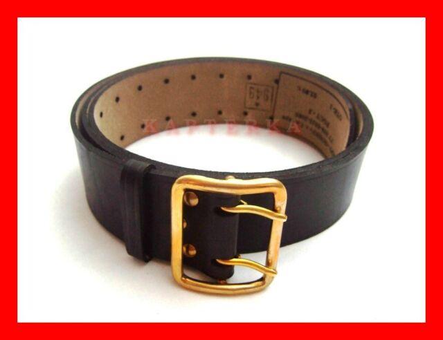 ☆ genuine russian army soldier sergeant sailor uniform leather belt ☆