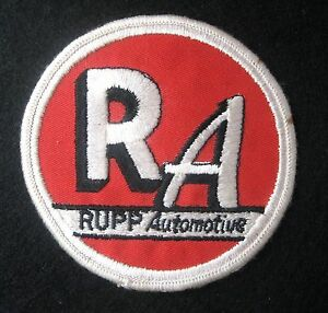 RUPP-AUTOMOTIVE-EMBROIDERED-SEW-ON-ONLY-PATCH-CAR-REPAIR-NAPA-4-034-UNIFORM