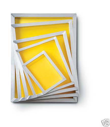 6 20 X 24 Aluminum Screen Printing Frames | eBay