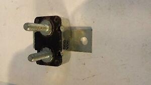 Trolling Motor In Line 30 Amp Circuit Breaker 12v 355 Ebay