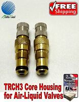 Tractor Air Water Tire Valve Stems Core Housing Trch3 Set Of (2)