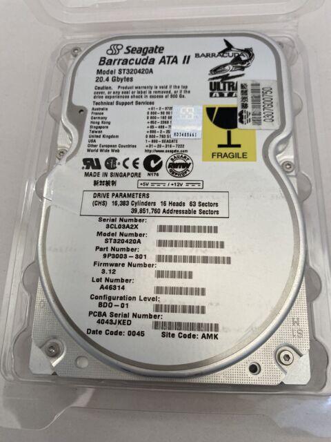 Seagate Barracuda 7200.9 80GB SATA//300 7200RPM 2MB Hard Drive