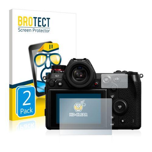2x Protezione Display Chiaro per Panasonic Lumix dc-s1//Panasonic Lumix dc-s1r