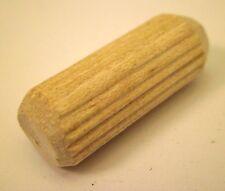 "Package of 50 single 1-1//2/"" X 3//8/"" Wood spiral groove dowel furniture glue pins"