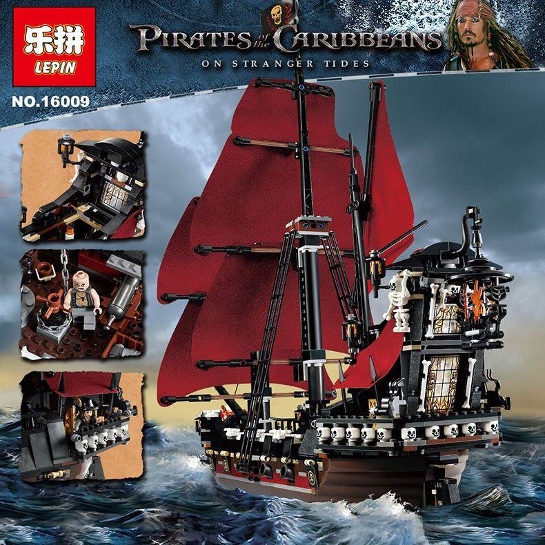 Blocs De  Construction - Pirates des voitureaïbes La Revanche du Queen Anne - 1151Pcs  vente discount en ligne