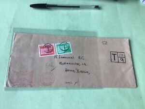 London 1967 to Basel Switzerland To Pay   Stamps Cover Ref 52307