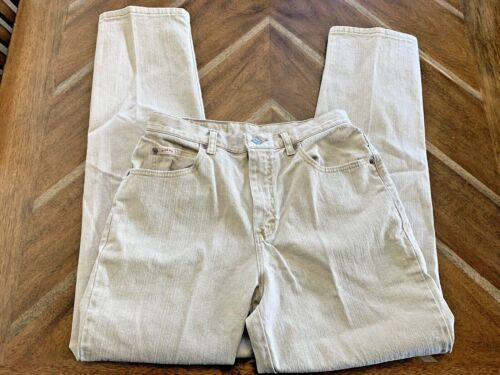 Riders Womans Size 10 Tan Jeans Straight Tapered L