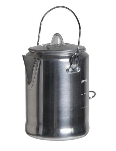 Aluminium coffee pot avec percolateur Mil-Tec Camping Pot 1.35LTR