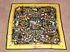 Vintage Rare Authentic Hermes Paris Pierres D'Orient et D'Occident Silk Scarf