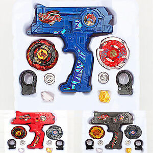 Top Metal Master Fusion Rapidity Fight Beyblade 4D Launcher Grip Set Kids Toy