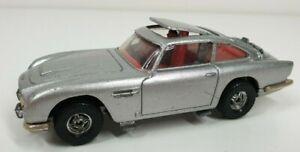 Vintage Corgi 007 Aston Martin Db5 Made In Gt Britain Car Silver James Bond Ebay