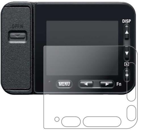 2x Sony DSC-RX0M2 Protector de Pantalla de Vidrio Mate Flexible 9H dipos