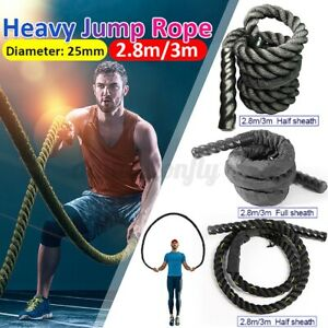 Rope Heavy Jump Ropes Skipping Battle Fitness Weighted Training Workout Exercise