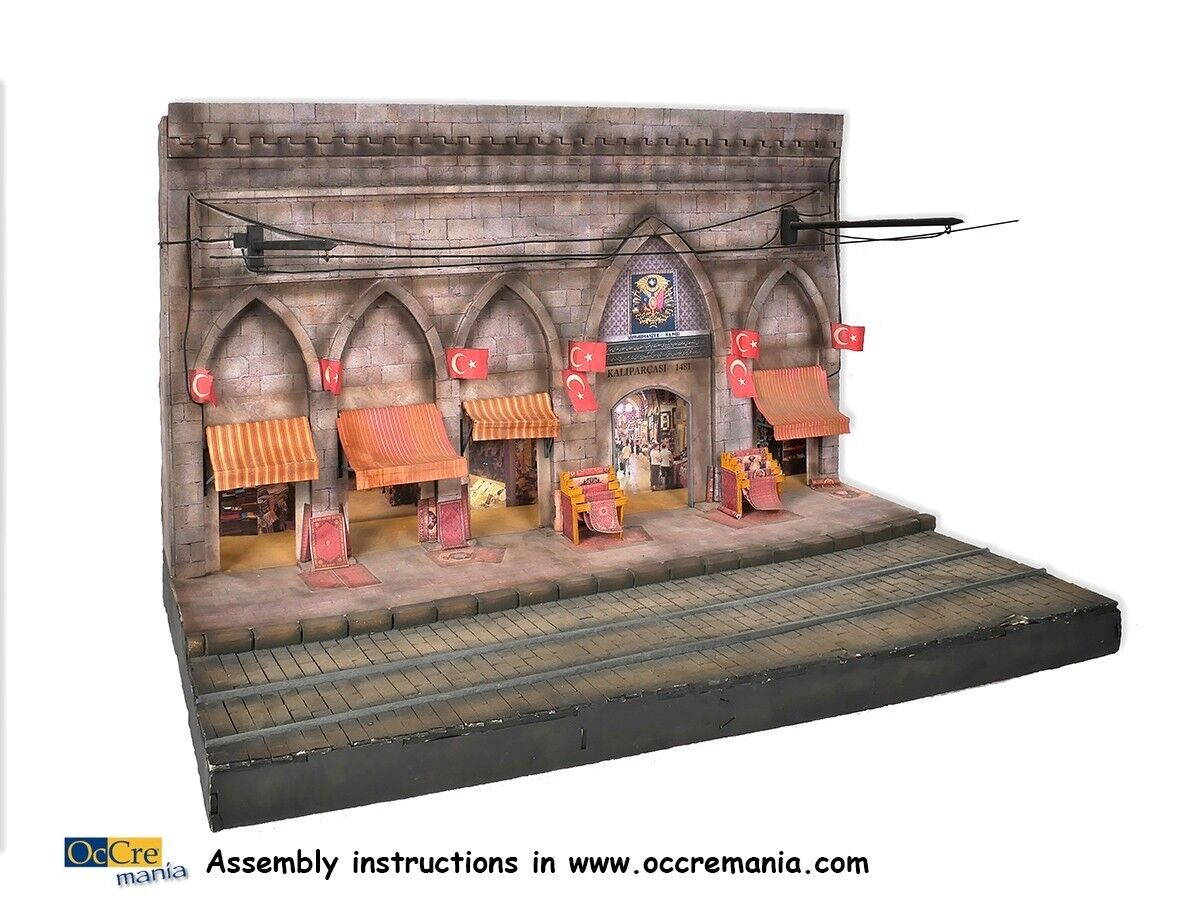 Occre Diorama For Trams 1 24 Scale Model Kit  - Choice of Dioramas available