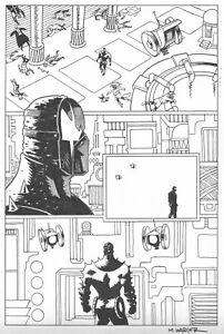 GRENDEL: DEVIL'S ODYSSEY # 5 Pg. 16 by MATT WAGNER! SIGNED!! GRENDEL PRIME!!!