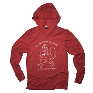 Ludacris Christmas.Details About Whats In Santa Bag Christmas Hooded Sweatshirt Funny Shirt Ludacris Ugly Sweater