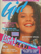 Girl  Magazine 16 August 1989     Lisa M    Jason Donovan    Waterfront    Sonia