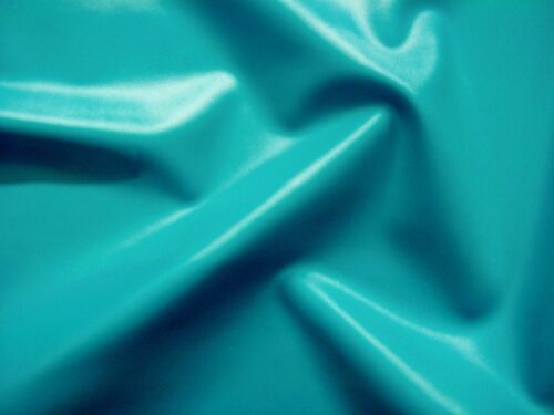 Latex Rubber 0.33mm Thick 92cm Wide,Vibrant Turquoise