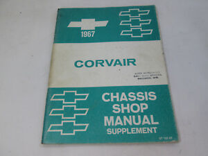 Chevrolet Corvair 1967 Chassis Shop Manual Supplement ST132-67
